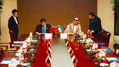 Photo of الكويت توقع مذكرتي تفاهم مع الصين بشأن مبادرة الحزام والطريق