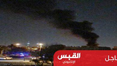 Photo of اندلاع حريق بمحول كهربائي بالحرم الجامعي في الخالدية