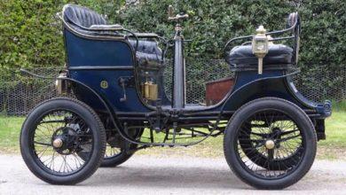 Photo of أقدم سيارة في بريطانيا معروضة للبيع وهذا سعرها
