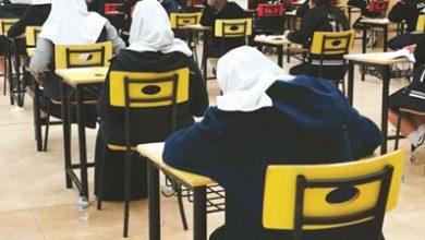 Photo of 38 ألف طالب وطالبة يدشنون اختبارات الثانوية العامة