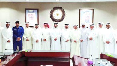 Photo of العبدالله بحث خطط تأمين الموانئ | جريدة الأنباء