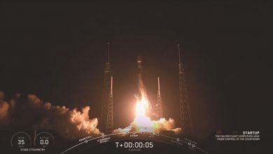 Photo of بالفيديو سبايس اكس تطلق 60 قمرا