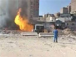 Photo of بالفيديو لحظة اشتعال النيران في | جريدة الأنباء
