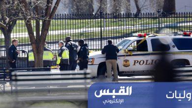 Photo of شخص يضرم النار فى نفسه أمام البيت الأبيض