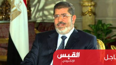 Photo of دفن مرسي بعد الانتهاء من الطب الشرعي