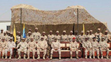 Photo of نائب رئيس الأركان يزور قوة واجب مبارك بوبيان مهنئا بالعيد