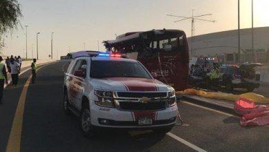 Photo of دبي مقتل شخصاً في حادث مروع