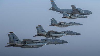 Photo of مقاتلات سعودية وأميركية تحلق فوق الخليج
