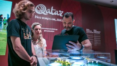 Photo of اللجنة العليا تفتتح معرض الطريق نحو قطر في البرازيل