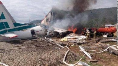 Photo of تحطم طائرة روسية أثناء هبوطها شرقي سيبيريا