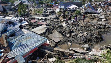 Photo of زلزالان يضربان جزر ماريانا فى جزيرة سولاويسى الإندونيسية