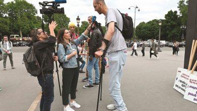 Photo of مسيرة لطوال القامة في باريس لتعزيز   جريدة الأنباء