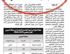 Photo of استبعاد 580 طالبا يفجر أزمة في | جريدة الأنباء