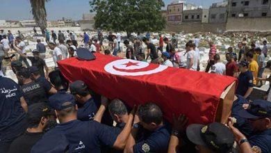 Photo of تشييع شرطي قتل الخميس خلال تفجير | جريدة الأنباء