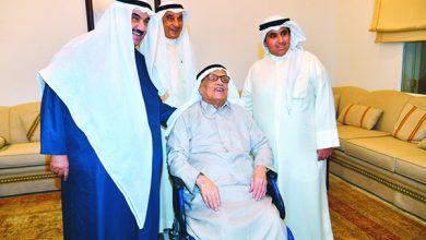 Photo of بالفيديو.. أمنيات بالعمر المديد للعجيري في عيد ميلاده الـ 99
