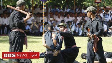 """Photo of بالصور: في """"يوم الغضب"""" كمبوديون يعيدون تمثيل مجازر الخمير الحمر"""