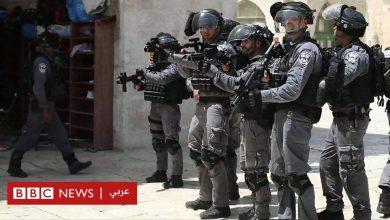 Photo of اشتباكات بين المصلين وقوات الاحتلال الإسرائيلى داخل ساحة المسجد الأقصى