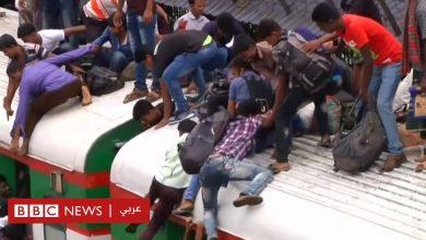 Photo of عيد الفطر في بنغلاديش: آلاف الأشخاص يتزاحمون للعودة إلى بيوتهم