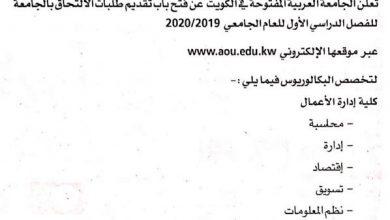 Photo of الجامعة العربية المفتوحة – فرع الكويت