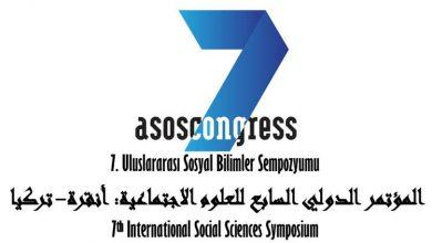 Photo of المؤتمر الدولي السابع للعلوم الاجتماعية: أنقرة- تركيا