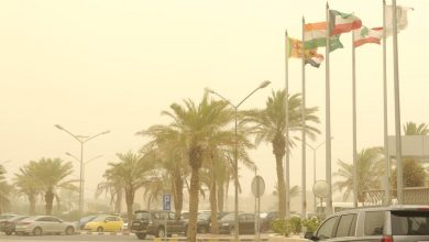 Photo of الأرصاد طقس شديد الحرارة مع رياح مثيرة للغبار والعظمى