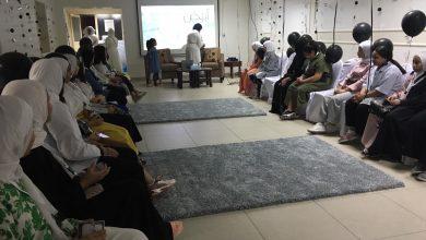 Photo of نسائية إعانة المرضى تدشن نادي شموخ الصيفي للفتيات
