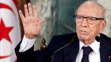 Photo of نقل الرئيس التونسي للمستشفى العسكري