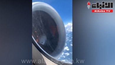 Photo of محرك طائرة يتعطل ويشتعل فوق السحاب   جريدة الأنباء