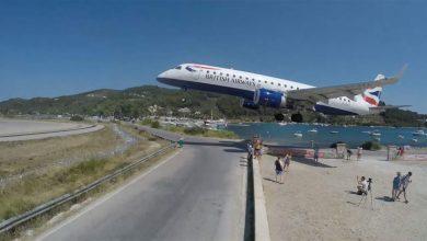 Photo of بالفيديو طائرة تهبط على ارتفاع | جريدة الأنباء
