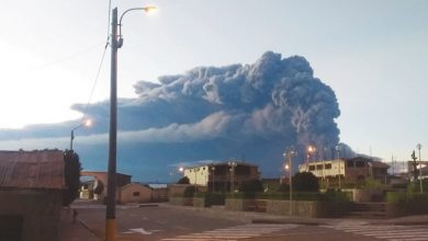 Photo of بالفيديو نشاط بركان أوبيناس يجلي | جريدة الأنباء