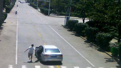 Photo of بالفيديو صيني ينجح في إيقاف سيارة   جريدة الأنباء