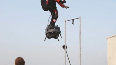 Photo of بالفيديو الرجل الطائر يتحضر للتحليق
