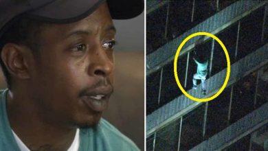 Photo of فيديو الابن البار يتسلق مبنى 19   جريدة الأنباء