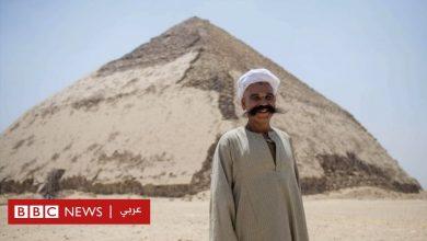 Photo of بالصور: مصر تفتح الهرم المنحني أمام الزائرين لأول مرة منذ أكثر من 50 عاما