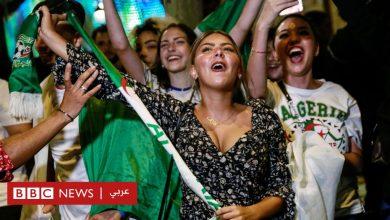 Photo of احتفالات الجزائريين بوصول منتخبهم إلى نهائي كأس أمم إفريقيا