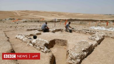 Photo of خبراء آثار إسرائيليون يكتشفون بقايا مسجد عمره 1200 عام في صحراء النقب