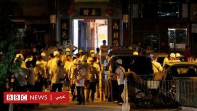 Photo of مظاهرات هونغ كونغ: حالة صدمة تعيشها الجزيرة بعد هجوم ملثمين على محتجين