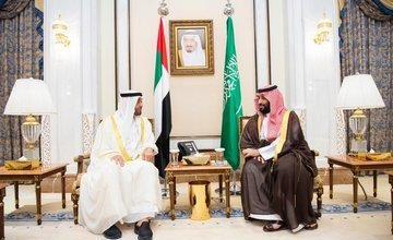 Photo of ولي العهد السعودي وولي عهد أبوظبي يبحثان المستجدات الإقليمية