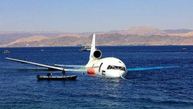 Photo of الأردن يُغرِق طائرة تجارية جديدة في خليج العقبة