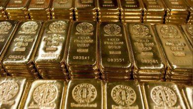 Photo of الذهب يهبط مع صعود الدولار والأسهم