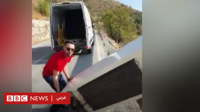 Photo of الشرطة الإسبانية تلزم رجلا بجلب ثلاجة بنفسه ألقاها من أعلى منحدر صخري