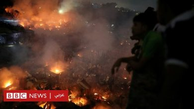 Photo of النيران تلتهم 15 ألف منزل في أحد الأحياء العشوائية في بنغلاديش