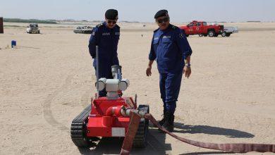 Photo of الإطفاء دشنت أحدث أنواع الروبوت الآلي لمكافحة الحرائق في الأما..