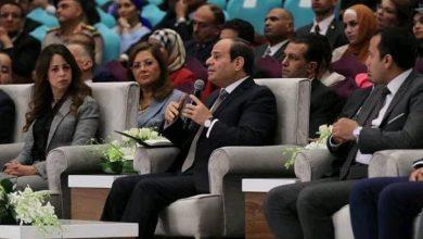 Photo of الرئيس المصري: اضطرابات المنطقة المستمرة تعود لمحاولات السيطرة على مقوماتها