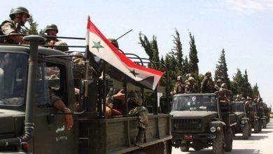 Photo of الجيش السوري يجري تدريبًا عسكريًا بإشراف روسي في محيط دمشق