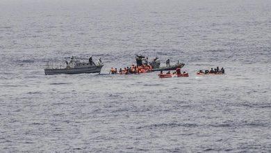 Photo of غرق قارب يحمل أكثر من شخصًا قبالة السواحل الليبية