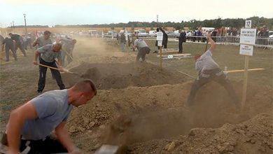 Photo of بالفيديو مسابقة لحفر القبور في | جريدة الأنباء