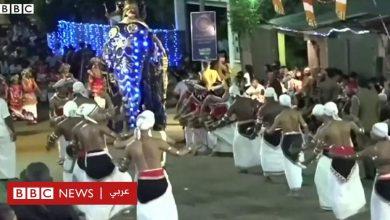 Photo of إصابة 17 شخصًا في مهرجان بوذي بسريلانكا