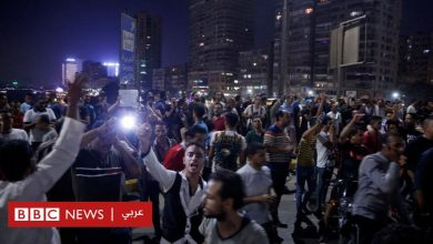Photo of مظاهرات مصر: ناشطون يفيدون باختفاء وتوقيف أكثر من 500 شخص