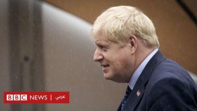 "Photo of رئاسة الحكومة البريطانية تنفي قيام بوريس جونسون بـ""عصر"" فخذ صحفية"